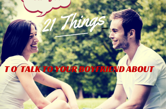 things talk boyfriend about